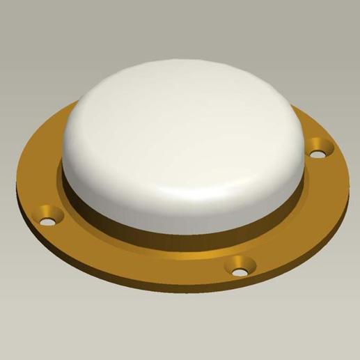 HTS-TA77A three system seven frequency external circular aviation antenna